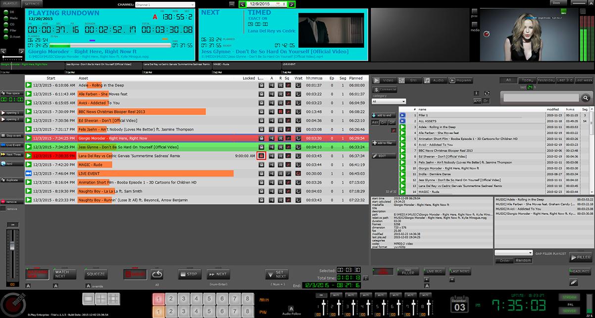 Tv Channel Automation Playout Software - instalzonebat
